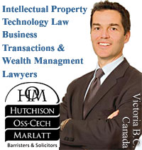 Photo - James Hutchison, Intellectual Property, Technolgoy Law, Commercial-Business lawyer in Victoria BC